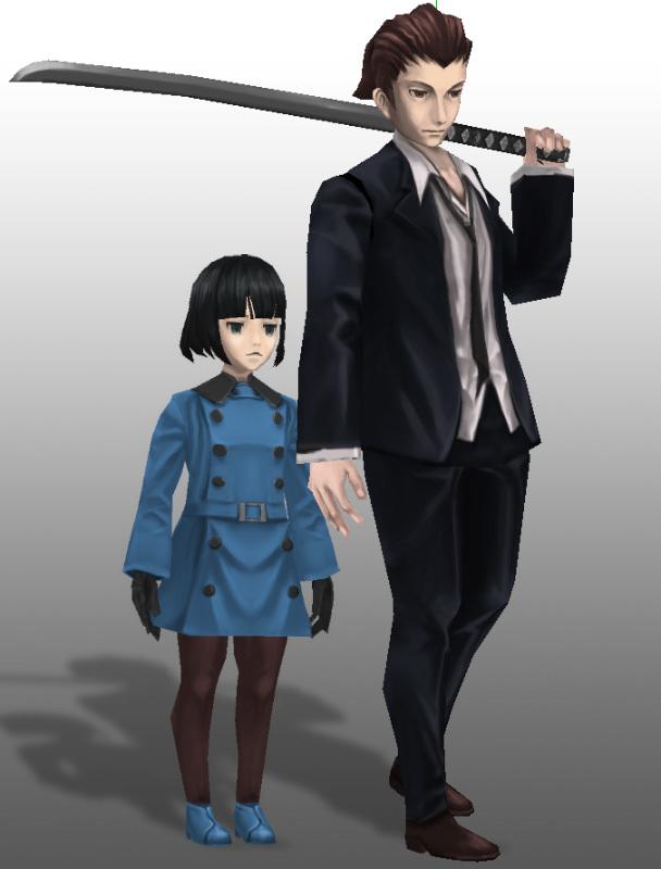 制作中キャラクター