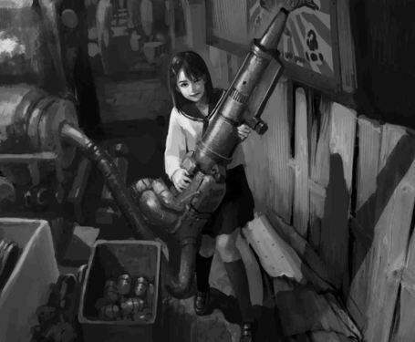 [Enty]雨がっぱ少女群 IS CREATING '漫画、イラスト'