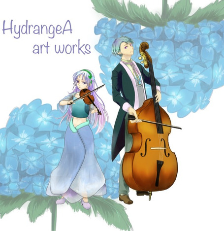 [Enty]HydrangeA art works  IS CREATING '小説、シナリオ'
